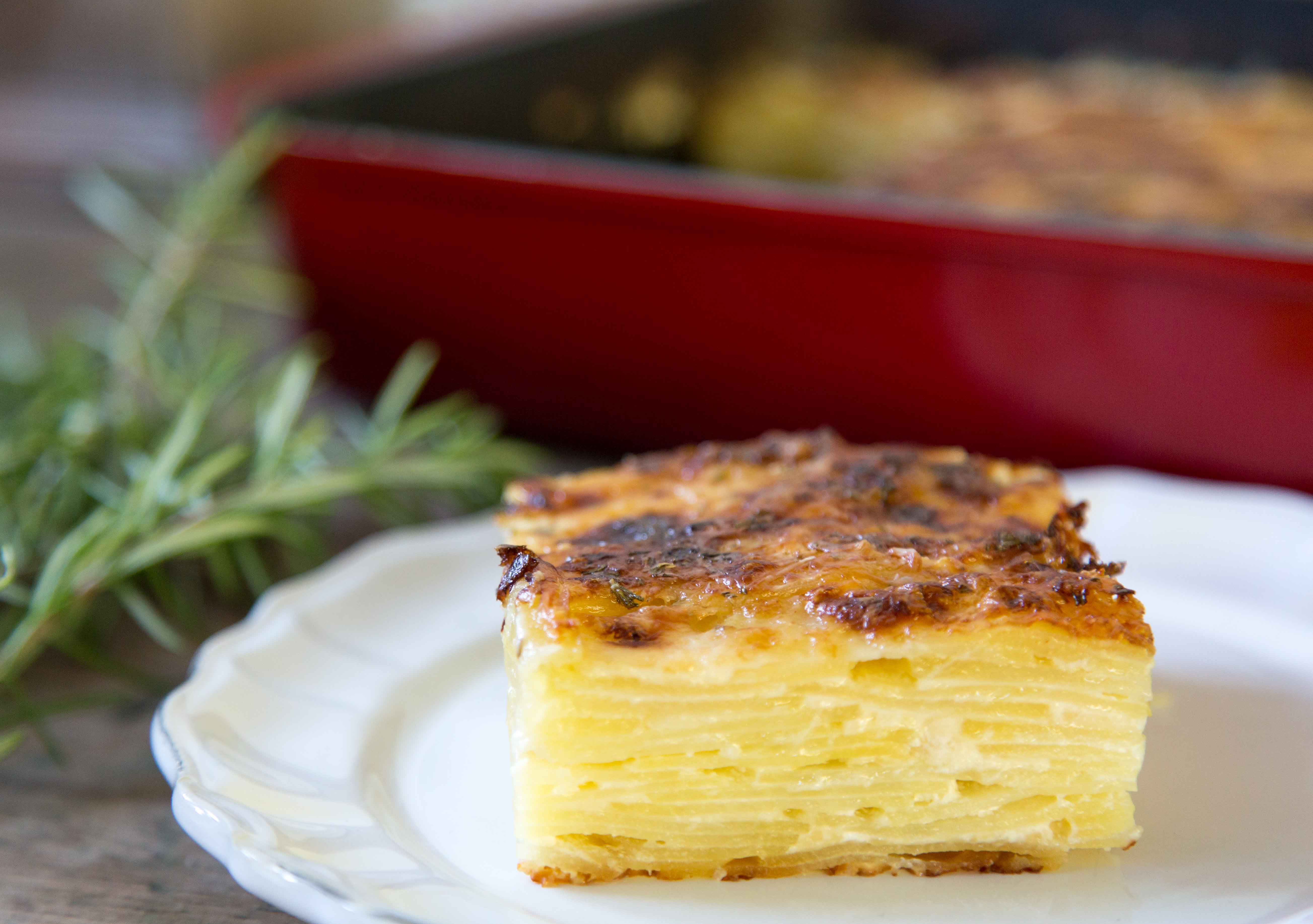 Pommes Dauphinoise Potato Gratin Recipe Sarah Sharratt